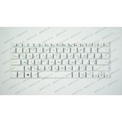 _Клавиатура для ноутбука ASUS (EeeBook: X205) rus, white, без фрейма