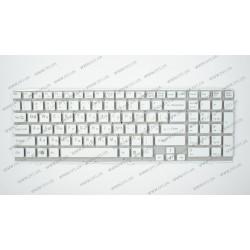 _Клавиатура для ноутбука SONY (VPC-EH series) rus, white, без фрейма