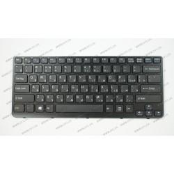 Клавиатура для ноутбука SONY (E14, SVE14) rus, black