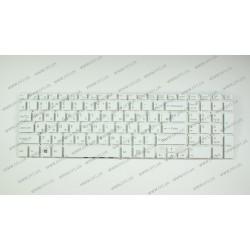 Клавиатура для ноутбука SONY (Fit 15, SVF15 series) rus, white, без фрейма