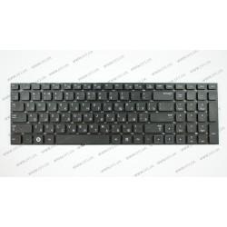 Клавиатура для ноутбука SAMSUNG (NP300E7A, NP300E7Z series) rus, black, без фрейма