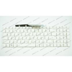 Клавиатура для ноутбука SAMSUNG (NP300E5, NP300V5, NP305E5, NP305V5 series) rus, white, без фрейма