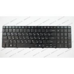 Клавиатура для ноутбука ACER (AS: 5236, 5336, 5410, 5538, 5553, EM: E440, E640, E730, G640) rus, black, подсветка клавиш