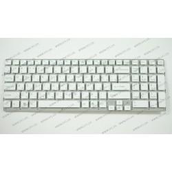 Клавиатура для ноутбука SONY (VPC-EC) rus, white, без фрейма