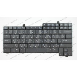 _Клавиатура для ноутбука DELL (Latitude: D500, D505, D600, D800) rus, black