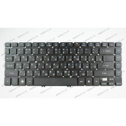 Клавиатура для ноутбука ACER (AS: V5-431, V5-471 series) rus, black (14.0)