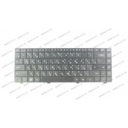 Клавиатура для ноутбука HP (Compaq: 320, 325, 420, 425, 620, 621, 625) rus, black (13-14)