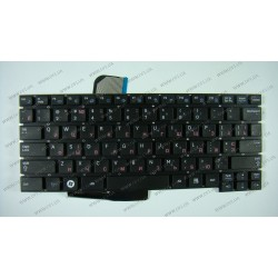 Клавиатура для ноутбука SAMSUNG (NF210, NF310, X123, X125) rus, black, без петель