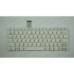 Клавиатура для ноутбука ASUS (EeePC: 1025C, 1025CE, X101) rus, white, без фрейма