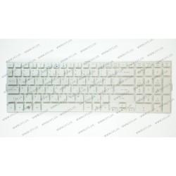 Клавиатура для ноутбука ACER (AS: 5943G, 5950G, 8943G, 8950G) rus, silver, без фрейма