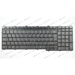 Клавиатура для ноутбука TOSHIBA (A500, L350, L500, L550, P200, P300, P500) rus, black