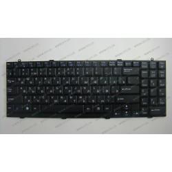 Клавиатура для ноутбука LG (R500, R510) rus, black
