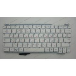 Клавиатура для ноутбука SAMSUNG (NC110) rus, white, without frame