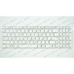 Клавиатура для ноутбука ASUS (A52, K52, X54, N53, N61, N73, N90, P53, X54, X55, X61), rus, white (K52 version)