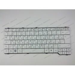 Клавиатура для ноутбука FUJITSU (AM: Pa3515, Pa3553, P5710, Pi3650, Li3710, ES: D9510, V6505, V6545, X9510) rus, white (13.3)