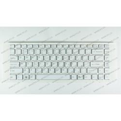 Клавиатура для ноутбука SONY (VPC-EA series) rus, white