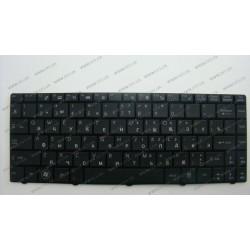 Клавиатура для ноутбука MSI (EX460, CR400, X300, X320, X340, X400, X410, X430, U200, U250) rus, black