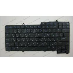 Клавиатура для ноутбука DELL (Inspiron: 1501, 640M, 9000, 9400, E1705, XPS: M1710, Precision: M90, M6300, Vostro: 1000), rus, black