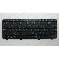 Клавиатура для ноутбука HP (Compaq: 500, 520) rus, black
