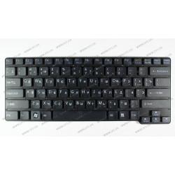 Клавиатура для ноутбука SONY (VGN-CW series) rus, black, без фрейма