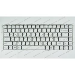Клавиатура для ноутбука SONY (VGN-NW series) rus, white, без фрейма