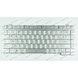 Клавиатура для ноутбука TOSHIBA (A200, A205, A300, A350, M200, M300, M305, M500, M505, L300) rus, silver
