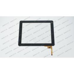 Тачскрин (сенсорное стекло) для GoClever Libra 97, QSD E-C97003-06, 9.7, внешний размер 236*183 мм, рабочий размер 197*148 мм,12pin, белый