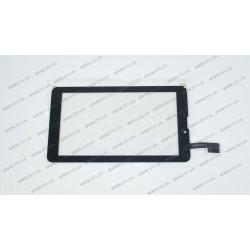 Тачскрин (сенсорное стекло) CN039C0700G1 2V0, 7, внешний размер 184*104 мм, рабочий размер 155*87 мм, 30pin, черный