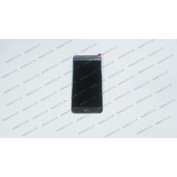 Модуль матрица + тачскрин  для LG X Cam, grey