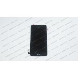Модуль матрица + тачскрин  для LG K7 (X210), black