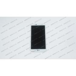 Модуль матрица+тачскрин  для LG K10 LTE (K430DS), white