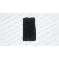 Модуль матрица + тачскрин  для LG K10 LTE (K430DS), black