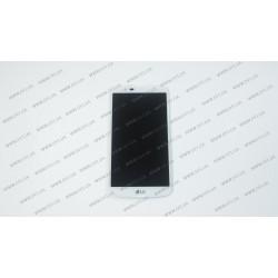 Модуль матрица + тачскрин  для LG K10 (K410), white