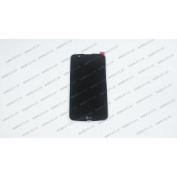 Модуль матрица + тачскрин  для LG K10 (K410), black