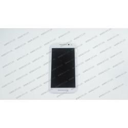 Модуль матрица + тачскрин  для Motorola XT1550 Moto G,white