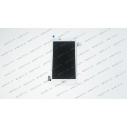 Модуль матрица + тачскрин для LG K8 K350E, white
