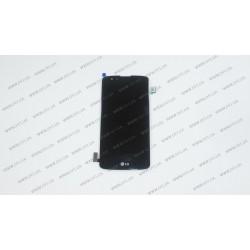 Модуль матрица + тачскрин для LG K8 K350E, black