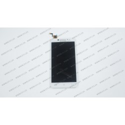 Модуль матрица + тачскрин для Lenovo A5000, white