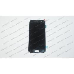 Модуль матрица+тачскрин  для Samsung Galaxy S7, black