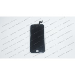 Модуль матрица + тачскрин для Apple iPhone 6S, black, high copy
