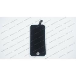 Модуль матрица + тачскрин для Apple iPhone 5c, black