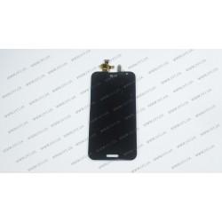 Модуль матрица + тачскрин  для LG Optimus G Pro (E988), black