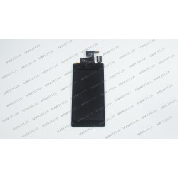 Модуль матрица + тачскрин для Sony Xperia C C2305, black