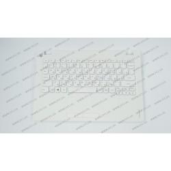 Клавиатура для ноутбука LENOVO (IdeaPad 100s-11IBY Keyboard+передняя панель) rus, white (ОРИГИНАЛ)