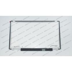 Матрица 15.6 LP156WHB-TPGA (1366*768, 30pin(eDP), LED, SLIM(вертикальные ушки), глянец, разъем справа внизу) для ноутбука