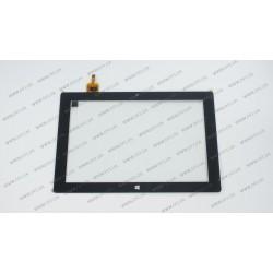 Тачскрин (сенсорное стекло) CTP101170-01, 10,1, размер 254x168 мм, 10 pin, черный