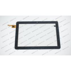 Тачскрин (сенсорное стекло) 101217R01-V1, 10,1, внешний размер 250x168 мм, 10 pin, черный