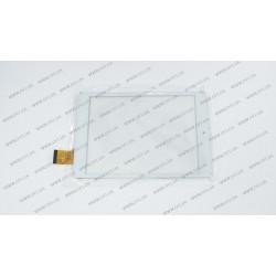 Тачскрин (сенсорное стекло) для GoClever Quantum 785, MF-500-079F-3 FPC, 7,85, внешний размер 197*131 мм, рабочий размер 160*120 мм, 40 pin, белый