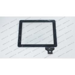 Тачскрин (сенсорное стекло) для Coby Mid 9742, 300-L3312A-A00-V1.0, 9,7, внешний размер 237*185 мм, рабочий размер 197*148 мм, черный