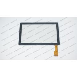 Тачскрин (сенсорное стекло) для Bravis Np71, DLW-CTP-009, 7, внешний размер 173*105 мм, рабочий размер 153*87 мм, 30 pin, черный